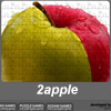 2apple jigsaw puzzle Online Puzzle game