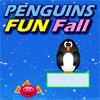 Penguins Fun Fall Online Puzzle game