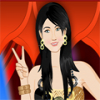 Miley Cyrus Dressup Online Adventure game
