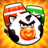 Angry Cows Online Puzzle game