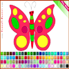 Butterfly Coloring Online Miscellaneous game