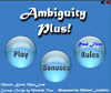 Ambiguity Plus Online Puzzle game