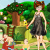 Babysitting girl dress up Online Puzzle game