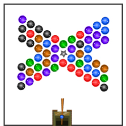 Ball Shooter 2 Online Strategy game