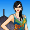 Beach Girl Dressup Online Puzzle game