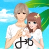 Beach Lovers Dress Up Online Miscellaneous game