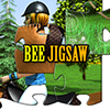 Bee JigsawHorse Jumping Online Puzzle game