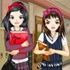 Best Friends In High School Dress Up Online Arcade game
