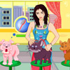 Brittany Birt Pets Care Online Arcade game