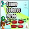 Bunny Defense Force Online Arcade game