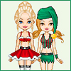 Chazie Holiday Dressup Online Miscellaneous game