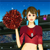 Cheerleader Girl Dress Up Online Girls game
