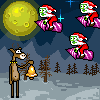 Christmas Zombie Online Miscellaneous game