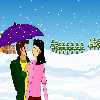 colordressup Snow Fall kissisng Online Miscellaneous game
