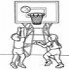 Coloring Basketball 1 Online Miscellaneous game