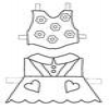 Coloring Dress Up Doll 1 2/3 Online Miscellaneous game