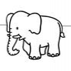 Coloring Elephants 1 Online Miscellaneous game