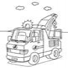Coloring Emergency vehicles 1 Online Miscellaneous game