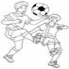 Coloring Football Soccer 1 Online Miscellaneous game