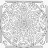 Coloring Mandala 1 Online Miscellaneous game