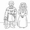 Coloring Middle Ages 1 Online Miscellaneous game