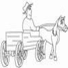 Coloring Miscellaneous vehicles 1 Carriage Online Miscellaneous game