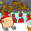 Coloring Santas Reindeers Online Miscellaneous game