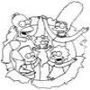Coloring The Simpsons 1 Online Miscellaneous game