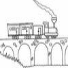 Coloring Trains 2 Online Miscellaneous game