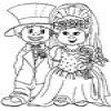 Coloring Weddings 1 Online Miscellaneous game