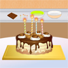 Cooking Chocolate Cake Online Miscellaneous game