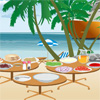 Cooking Gyros on the Beach Online Miscellaneous game