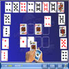 Crescent Solitaire Deluxe Online Puzzle game