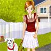 Dog walker Dress up Online Miscellaneous game