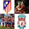 Europa League Atletico de Mardid Liverpool FC Puzzle Online Action game