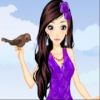 Fashion Girl and Cute Birds Online Action game