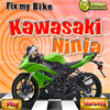Fix Bike Kawasaki ninja Online Puzzle game