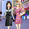 Friends Fashion Styling Online Puzzle game