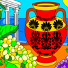 Greek Amphora Coloring Online Action game