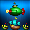 Green Submarine Online Action game