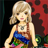 Guitar Girl Dress Up Online Arcade game