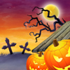 Halloween Pumkin Attack Online Puzzle game