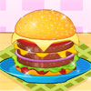 Hamburger Making Competition Online Action game