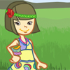 Hippie Party Fashion Online Puzzle game