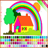 House Coloring Online Miscellaneous game