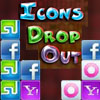 Icons DropOut Online Puzzle game