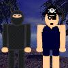 Ninjas Versus Pirates War Online Shooting game