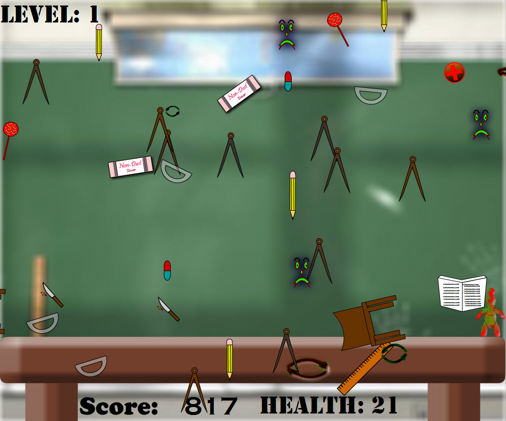 Kalien Back To School Online Action game