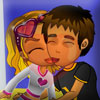 Kiss Mina Under The Mistletoe Online Adventure game