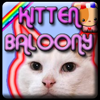 Kitten Ballony Online Puzzle game